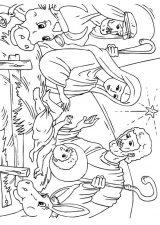 Dibujos de Navidad para colorear (341/365)