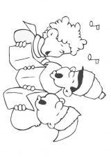 Dibujos de Navidad para colorear (356/365)