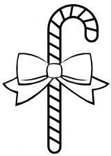 Dibujos de Navidad para colorear (359/365)