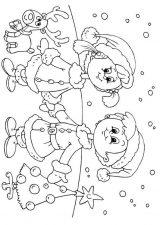 Dibujos de Navidad para colorear (362/365)