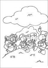 Pato Donald para colorear (6/60)