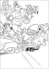 Pato Donald para colorear (28/60)
