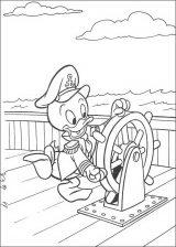Pato Donald para colorear (43/60)