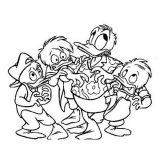 Dibujos para colorear del pato Donald (5/60)