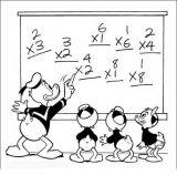 Dibujos para colorear del pato Donald (20/60)