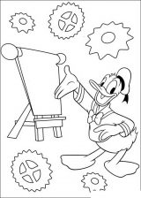 Dibujos para colorear del pato Donald (30/60)