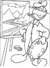 Dibujos para colorear del pato Donald (37/60)