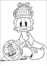 Donald para colorear (57/60)