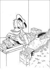 Pato Donald para colorear e imprimir (9/60)