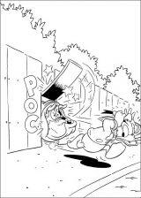 Pato Donald para colorear e imprimir (10/60)