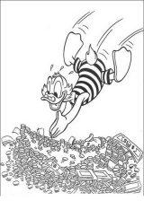 Pato Donald para colorear e imprimir (11/60)