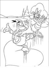 Pato Donald para colorear e imprimir (16/60)
