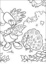 Pato Donald para colorear e imprimir (19/60)