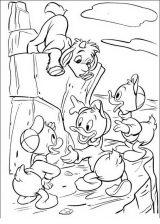 Pato Donald para colorear e imprimir (23/60)