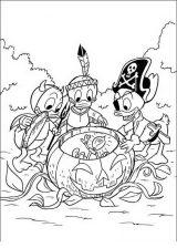 Pato Donald para colorear e imprimir (25/60)