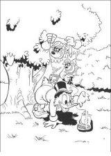Pato Donald para colorear e imprimir (28/60)