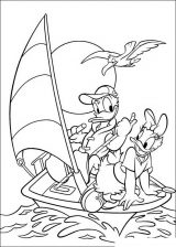 imagenes del pato Donald para colorear (16/48)