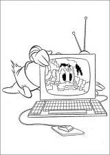imagenes del pato Donald para colorear (24/48)