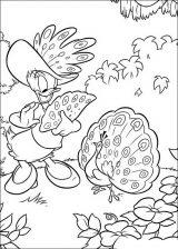 imagenes del pato Donald para colorear (40/48)