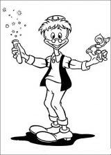 imagenes del pato Donald para colorear (46/48)
