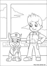 Dibujos para colorear patrulla canina (2/8)