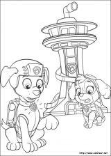 Dibujos para colorear patrulla canina (4/8)