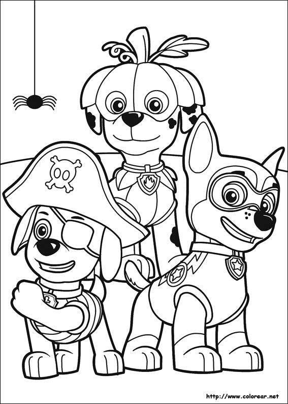 Paw Patrol Para Colorear 2020 Dibujos De La Patrulla Canina