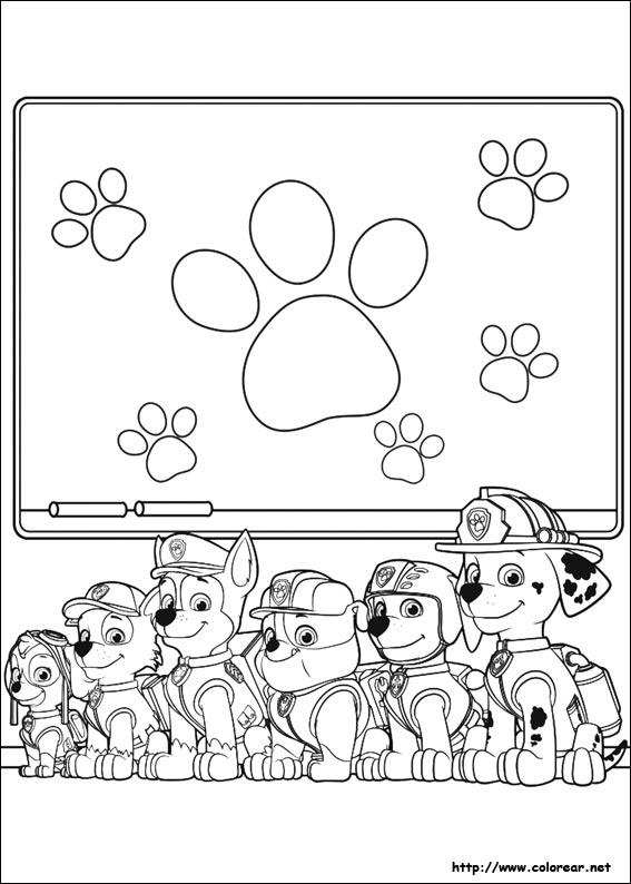 Paw Patrol Para Colorear2019 Dibujos De La Patrulla Canina Para