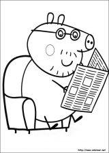 Dibujos de peppa pig para colorear (1/4)
