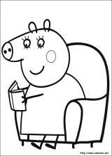 Dibujos de peppa pig para colorear (2/4)