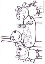 Dibujos de peppa pig para colorear (3/4)