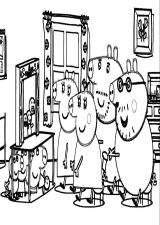 Imágenes de peppa pig para pintar (1/4)