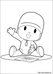 Dibujos de Pocoyo para colorear (4/21)