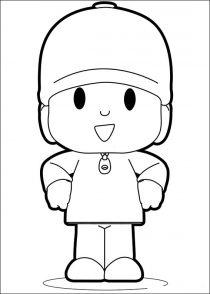 Dibujos de Pocoyo para colorear (5/21)