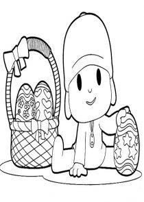 Dibujos de Pocoyo para colorear (13/21)