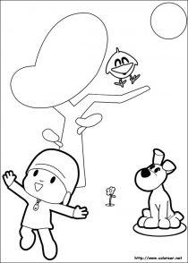 Dibujos de Pocoyo para colorear (15/21)