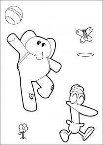 Dibujos de Pocoyo para colorear (18/21)