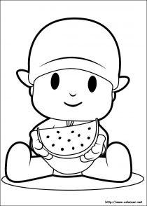 Dibujos de Pocoyo para colorear (19/21)