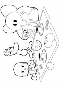 Dibujos de Pocoyo para colorear (20/21)