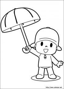 Dibujos de Pocoyo para colorear (21/21)
