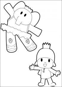 Dibujos de Pocoyo para colorear y pintar (10/21)