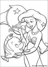 Ariel para colorear (10/16)