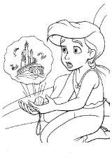 Ariel para colorear (12/16)