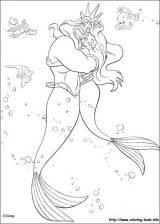 Dibujos de La Sirenita para colorear (4/16)