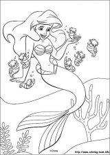 Dibujos de La Sirenita para colorear (8/16)