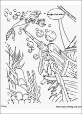 Dibujos de La Sirenita para colorear (11/16)