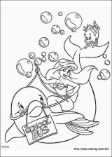 Dibujos de La Sirenita para colorear (12/16)
