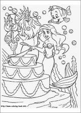 Dibujos de La Sirenita para colorear (15/16)