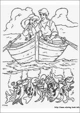 Dibujos de La Sirenita para colorear (16/16)