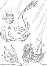 La Sirenita Ariel para colorear (5/16)